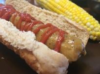 homemade vegetarian hotdogs