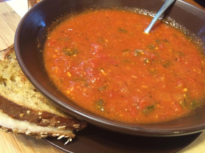 Flavorful Tomato Florentine Soup