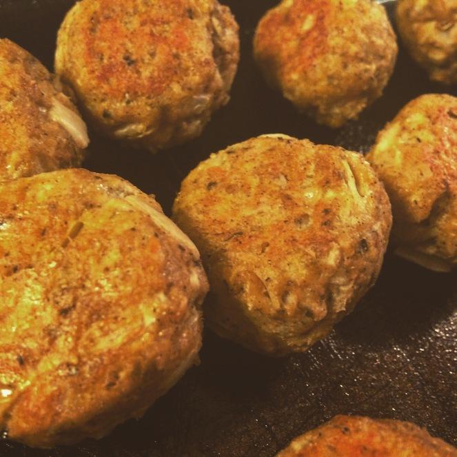 """Vegan """"Meat"""" Balls"""