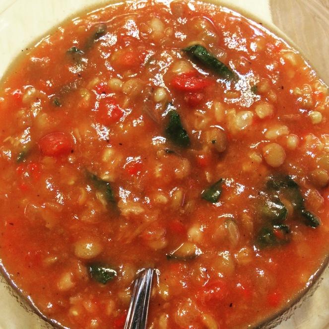 Crockpot Cajun Lentil Soup