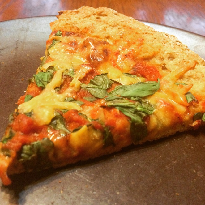 Healthy Whole-Wheat Individual Pizza