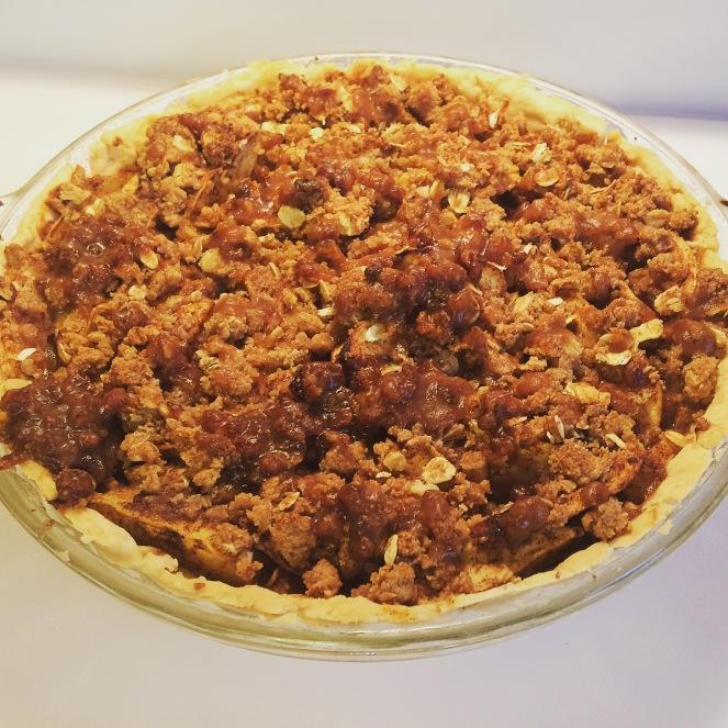 Skinny Caramel Apple Pie