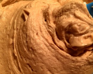Healthy Peanut Butter Frosting