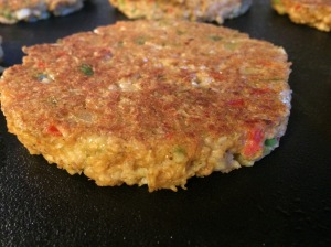 Veggie Oatmeal Burger