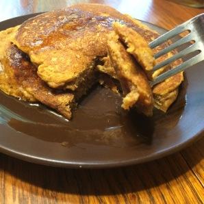 Oatmeal Pumpkin Pancakes (Perkins Copycat)