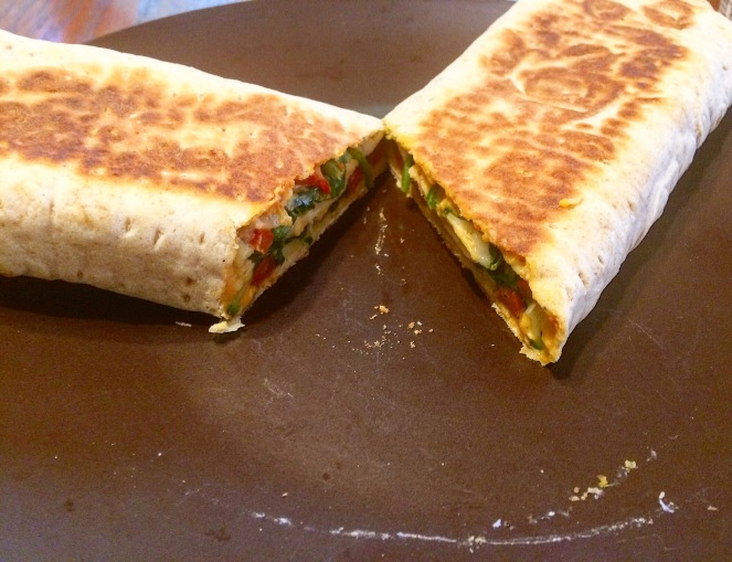 Roasted Veggie Panini