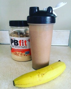 PB Chocolate Banana Lactation Shake